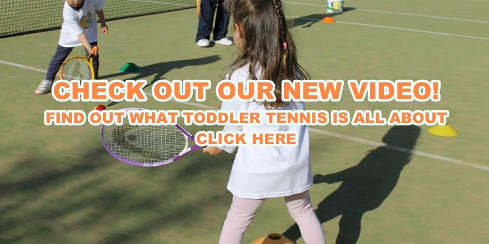 Toddler Tennis Slide